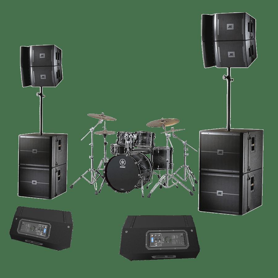Комплект оборудования Kaver для выступления групп