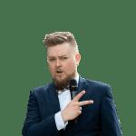 Ведущий на корпоратив Леонид Лунев