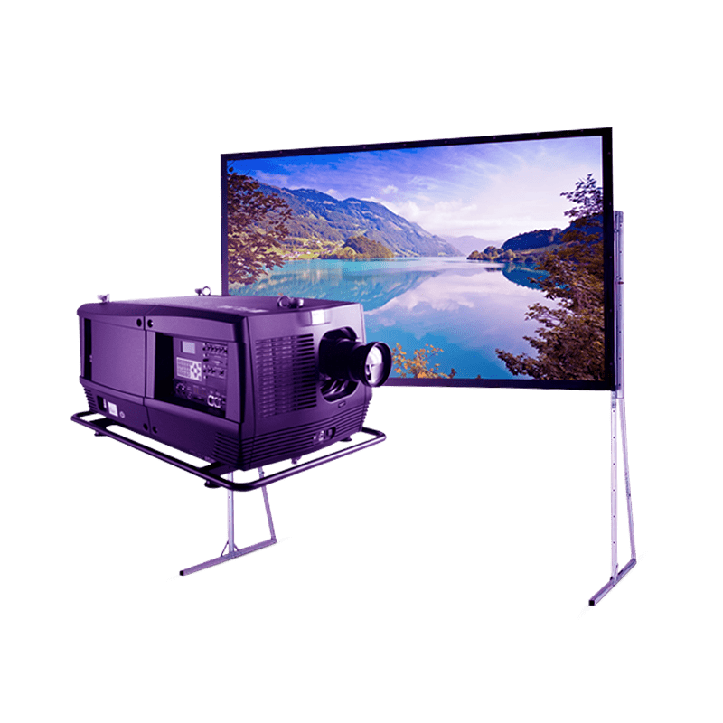 Проектор с экраном 10000 люмен